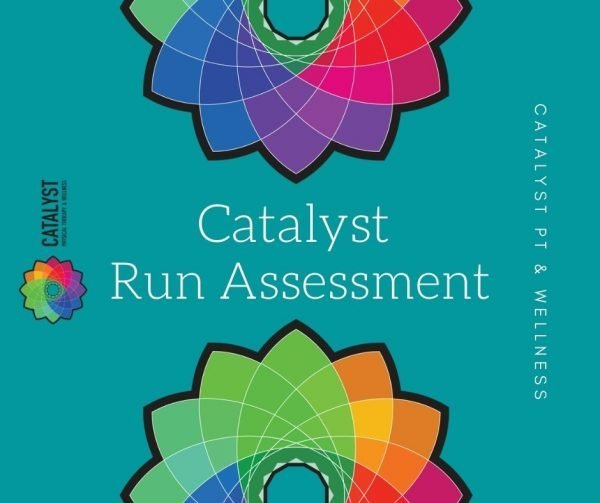 Catalyst Run Assessment rectangle blue